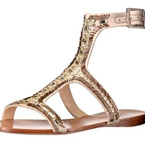 Imagine Vince Camuto beaded sandals 8